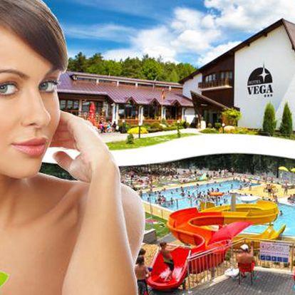 Luhačovický wellness s 5 procedurami a vstupem do aquaparku. Špičkový wellness rozmazlí vaše tělo a poskytne uvolnění během masáží a zábalů. Lenošit u vody pak budete v Aquaparku Duha se vstupem ZDARMA nebo v hotelovém bazénu!