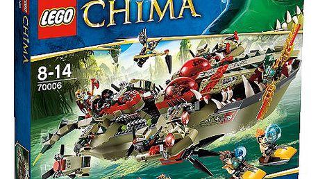 LEGO CHIMA 70006 Craggerův krokodýlí člun