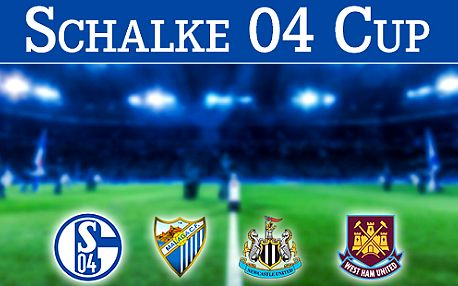 Zájezd na Schalke 04 vs Newcastle + West Ham United vs Malága