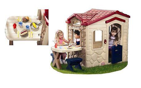 Little Tikes 170621 - Domek s piknikovým stolkem