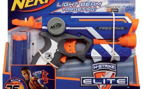 NERF Elite pistole se světelným zaměřováním (53378)