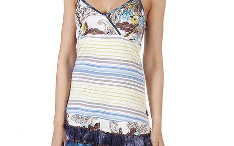 Dámské pastelové minišaty s volánkovou sukní Savage Culture