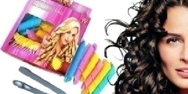 18 kusů MAGICKÝCH NATÁČEK + háček za nejlepší cenu na trhu 79 Kč! Super dárek pro dceru či manželku !