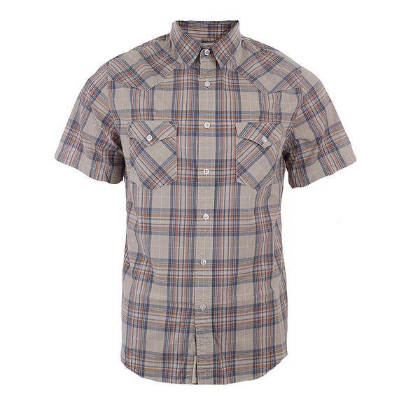 Pánská vícebarevná károvaná košile Timeout