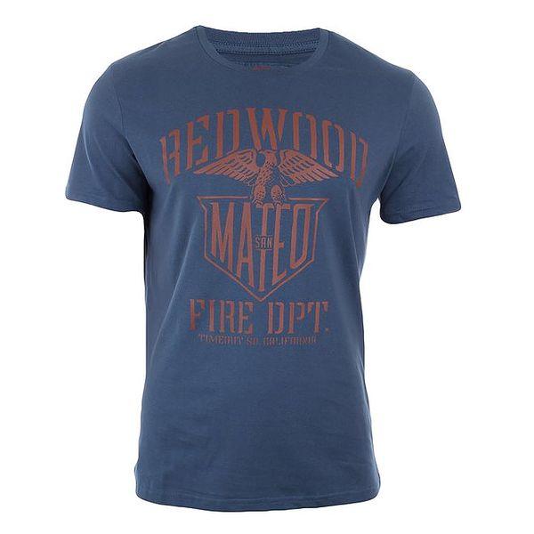 Pánské petrolejově modré triko Timeout