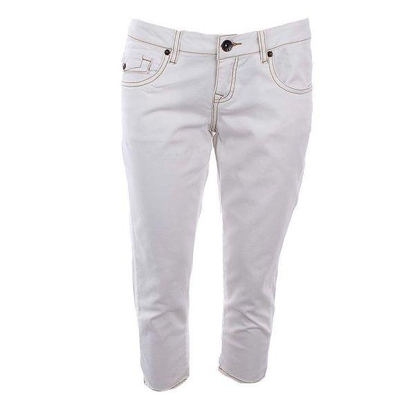 Dámské krémově bílé capri džíny Timeout