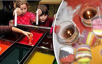Výroba luxusní svíčky i prohlídka mini farmy