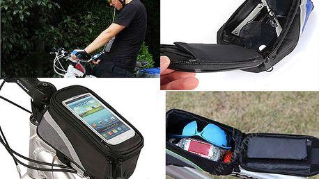 Voděodolné pouzdro na kolo, na telefon i jiné drobnosti !
