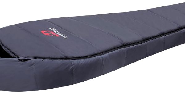 Teplý spací pytel Hannah Sherpa X3 se syntetickou náplní použitelný v chladnějších částech roku