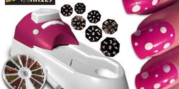Kreativní sada na lakování nehtů - nehty jako ze salonu!