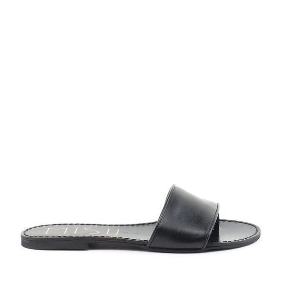 Dámské černé pantofle MISU