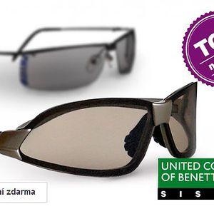 Unisex sluneční brýle Sisley a Benetton