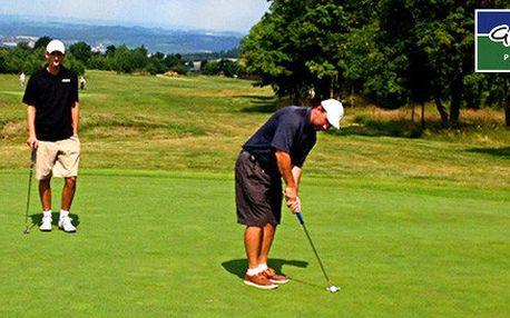 Celodenní vstup do golfového areálu