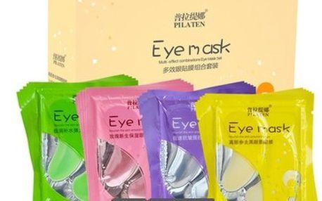 Bylinné kolagenové oční masky - rozjasněte svůj pohled!
