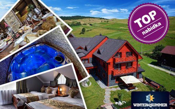 Tatry – luxusní resort s polopenzí