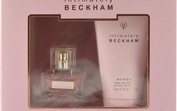 David Beckham Intimately EDT dárková sada W - Edt 30ml + 150ml tělové mléko