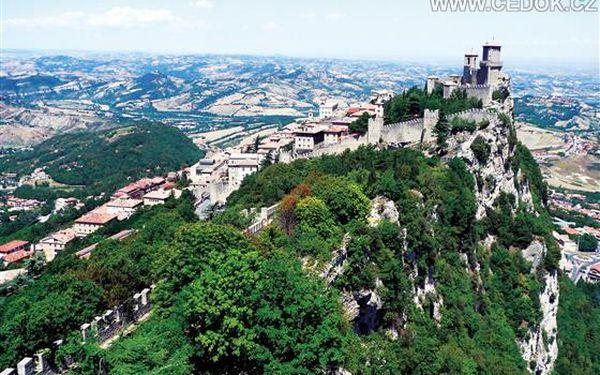 Itálie, poznávací zájezd - Benátky| Bologna |Maranello | Gradara| Urbino |San Marino| Rimini