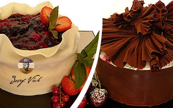 Domácí dorty z luxusního cukrářství Josef Vích za 299 Kč!
