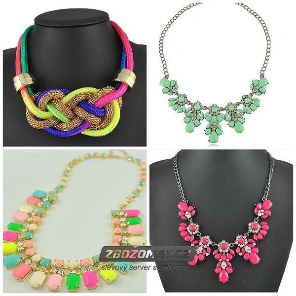 Veselý dámský náhrdelník - vyberte si z mnoha variant!