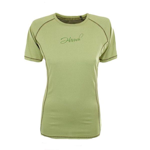 Dámské funkční tričko v limetkové barvě Hannah