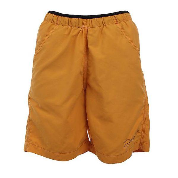 Dámské tmavě žluté funkční šortky Hannah
