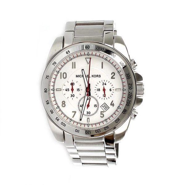 Pánské ocelové hodinky stříbrné Michael Kors