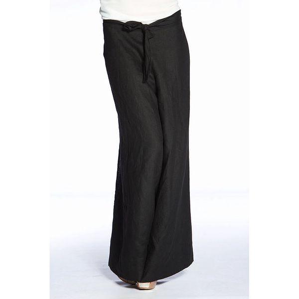 Dámské černé široké kalhoty Gene