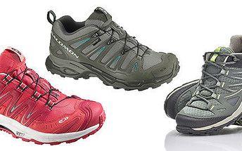Dámské boty Salomon na hory i běh v terénu