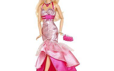 Mattel Y7495_Y7496 - Barbie Fashionistas Delux - Růžové šaty blo