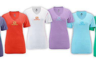 Dámská trička Salomon Stroll Logo Tee