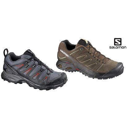 Pánská obuv Salomon X Ultra GTX a X Over LTR