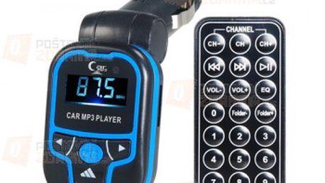 Barevný MP3 FM Transmitter a poštovné ZDARMA! - 19111279