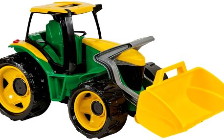 LENA 02079 - Traktor se lžíci, zeleno žlutý