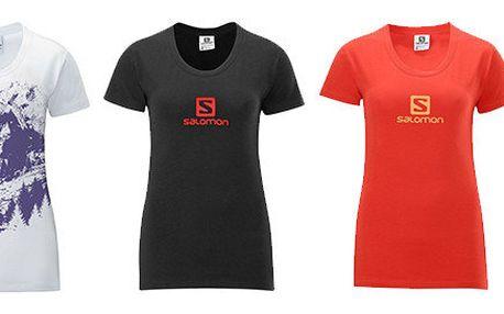 Dámská trička Mount Logo a Poly Logo