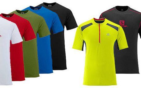 Pánská sportovní a volnočasová trika Salomon