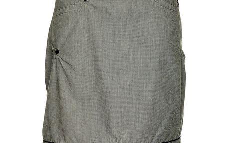 Dámská šedá proužkovaná sukně Loap