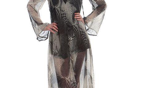 Dámské dlouhé černo-bílé šaty Cristian Lay