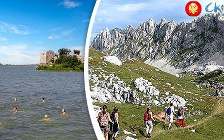 Poznávací zájezd za krásami Černé Hory