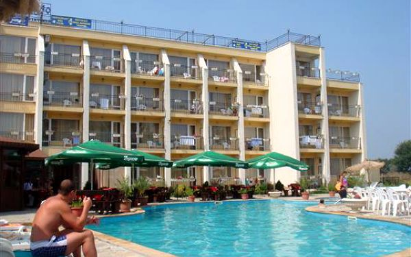 Hotel Odessos, Obzor, Bulharsko, letecky, snídaně v ceně