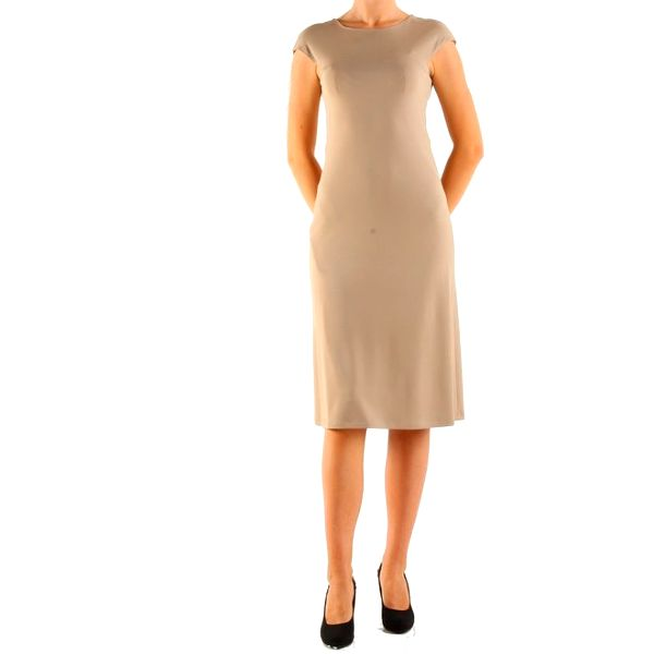 Dámské béžové šaty Calvin Klein