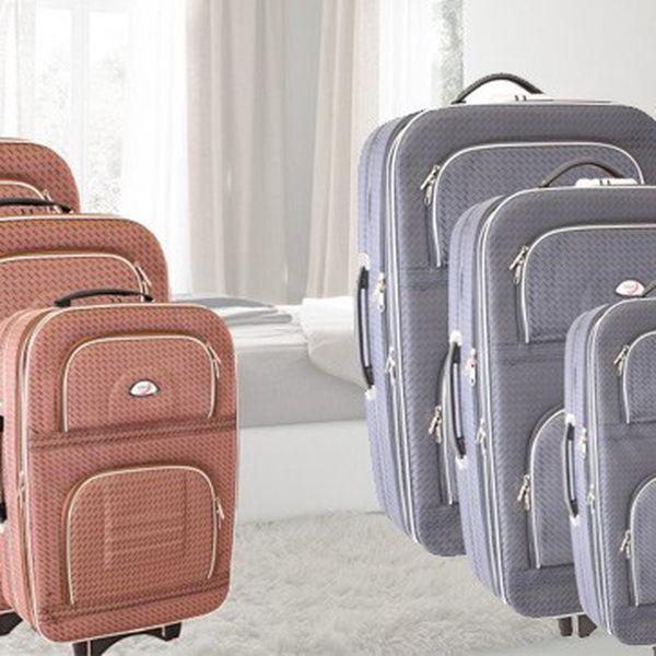 Sada cestovních kufrů na kolečkách