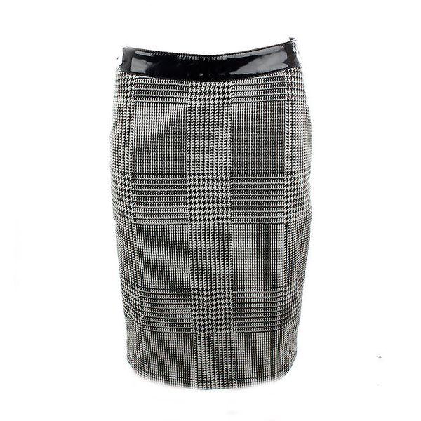 Dámská černo-bílá sukně Phard