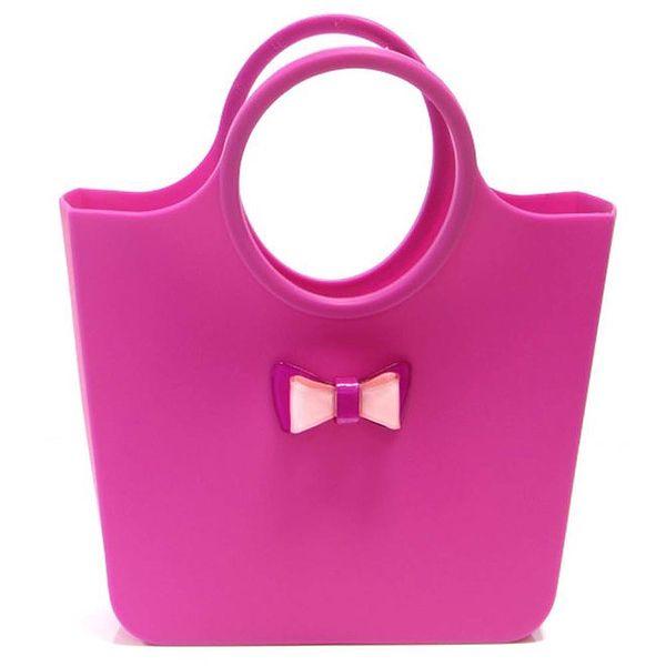 Dámská fuchsiová taška s mašličkou Favolla