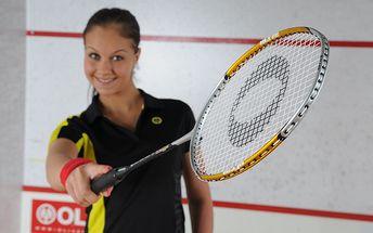 Nejoblíbenější badmintonová raketa mezi amatérskými i turnajovými hráči včetně obalu a míčku