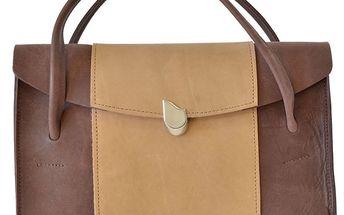 Dámská hnědo-béžová kabelka Bellemarie