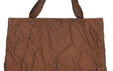 Dámská bronzová kabelka s mačkaným efektem Bellemarie