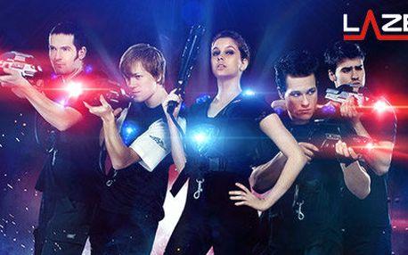 Adrenalinová hra laser game v nové LazerFun aréně