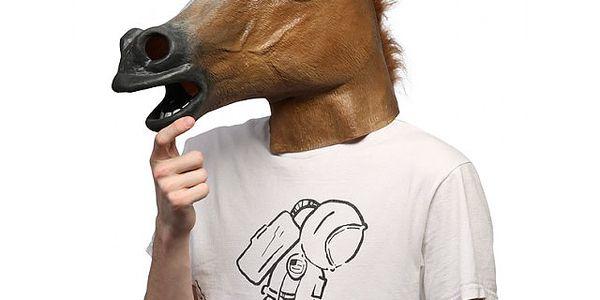 Maska koňská hlava - vystřelte si ze svých přátel!