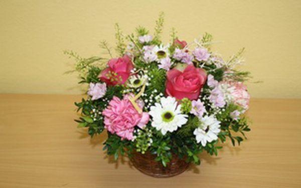 Kurz aranžování a vazby květin pro začátečníky