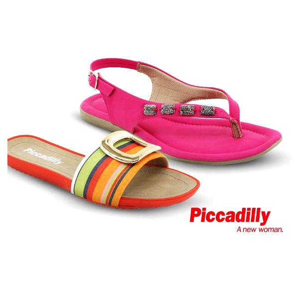 Dámské letní pantofle Piccadilly